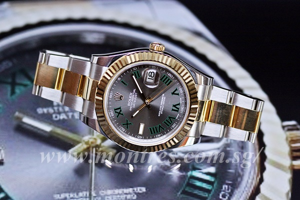 9c4f7782ae3 Rolex Datejust II 41mm 116333-0001 (Preowned) | Montres