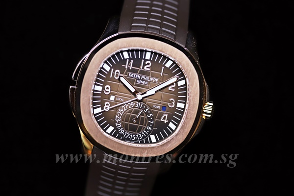 Patek Philippe Aquanaut Travel Time 5164r 001
