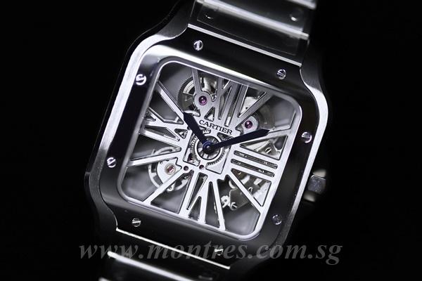 a99a1b103 Collections. Home / Not Available / Cartier Santos De Cartier Skeleton Watch  ...